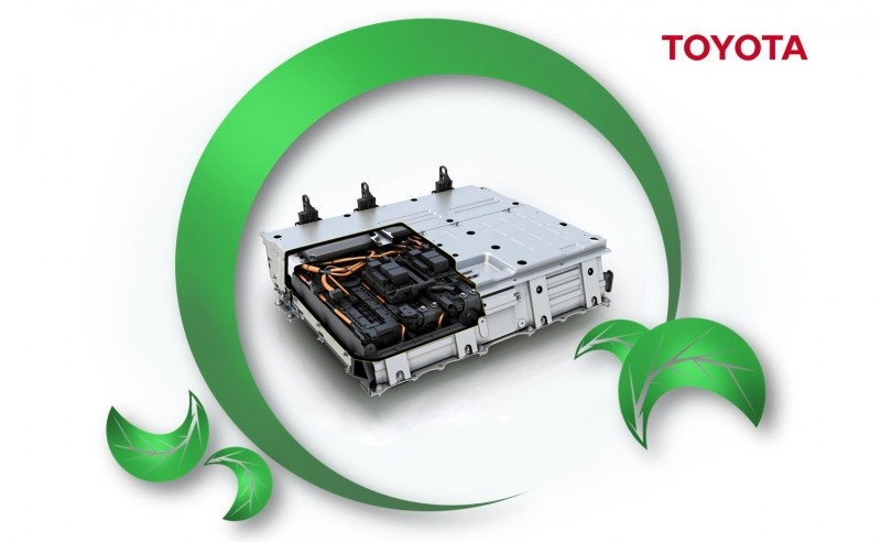 Toyota Prius battery recycling