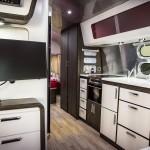 Airstream interior kitchen