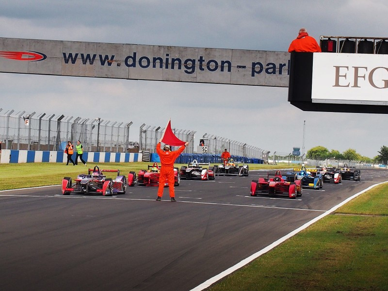Formula E Donington Test Day 3 July 2014 - PHOTO: Jonathan Musk