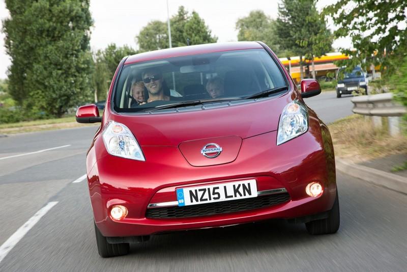 Nissan LEAF 15 plate