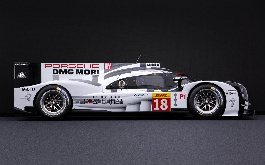 2015 Porsche 919 Hybrid Lines up for WEC