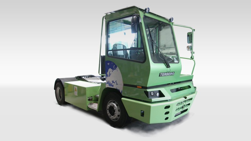 Terberg BMW SCHERM 40-ton electric truck