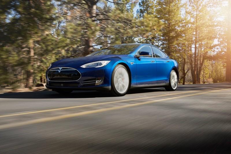 Model S new blue