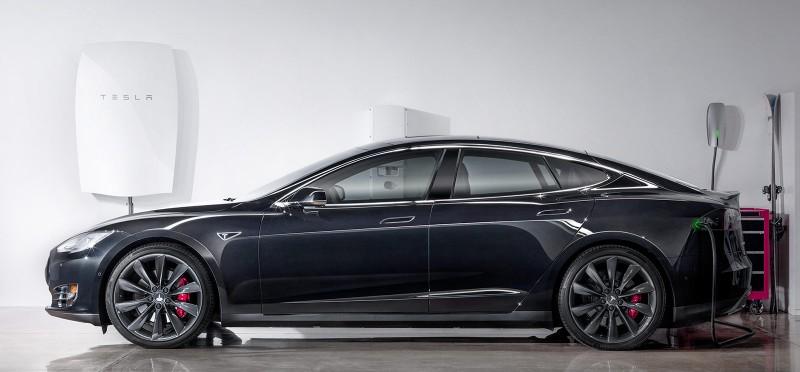 Tesla Model S and Powerwall