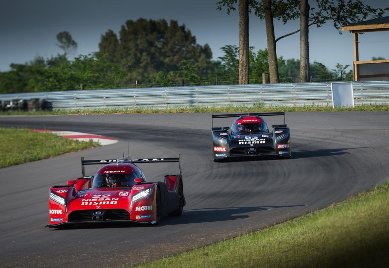 Nissan GT-R LM NISMO during May testing