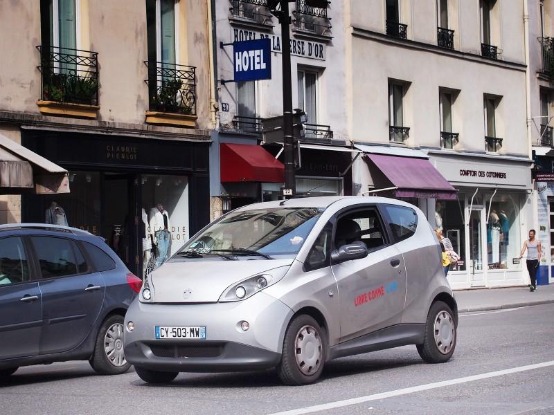 Autolib in Paris, Bolloré Bluecar