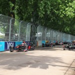 The race start - Formula E London ePrix 28 June 2015 - AutoVolt