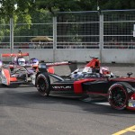 Sam Bird is hot on Sarrazin's heels - Formula E London ePrix 28 June 2015 - AutoVolt