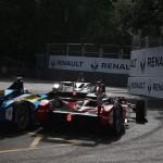 Buemi's move on Senna doesn't stick - Formula E London ePrix 28 June 2015 - AutoVolt