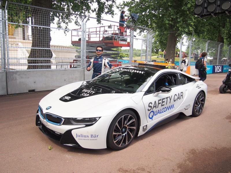 BMW i8 Safety Car - Formula E London ePrix 28 June 2015 - AutoVolt