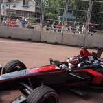 Stéphane Sarrazin leads from pole - Formula E London ePrix 28 June 2015 - AutoVolt
