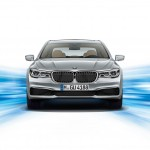 New BMW 7-Series PHEV - Front