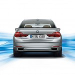 New BMW 7-Series PHEV - Rear