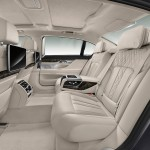 New BMW 7-Series PHEV - Interior, rear