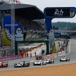 Le Mans race start 2015