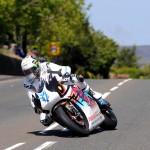 John McGuinness won the 2015 SES TT Zero challenge for Mugen | Credit Stephen Davison Pacemaker Press Intl.