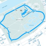 Formula E London ePrix Track layout
