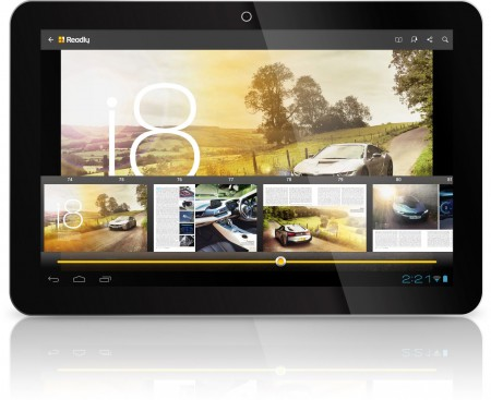 Autovolt Readly on Android Tablet