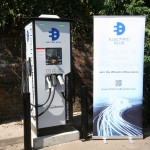 Electric Blue charge point St Albans