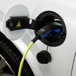 Volvo XC90 T8 Twin Engine petrol plug-in hybrid charge port
