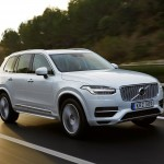 Volvo XC90 T8 Twin Engine petrol plug-in hybrid driven in Tarragona