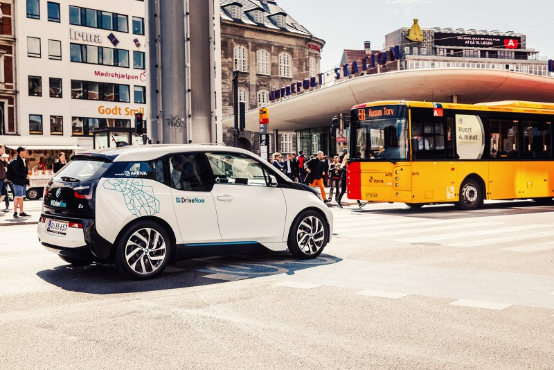 BMWi Car Sharing Copenhagen
