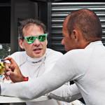 Jacques Villeneuve & Stephane Sarrazin - Formula E Donington 11.08.2015 | © Jonathan Musk, AutoVolt