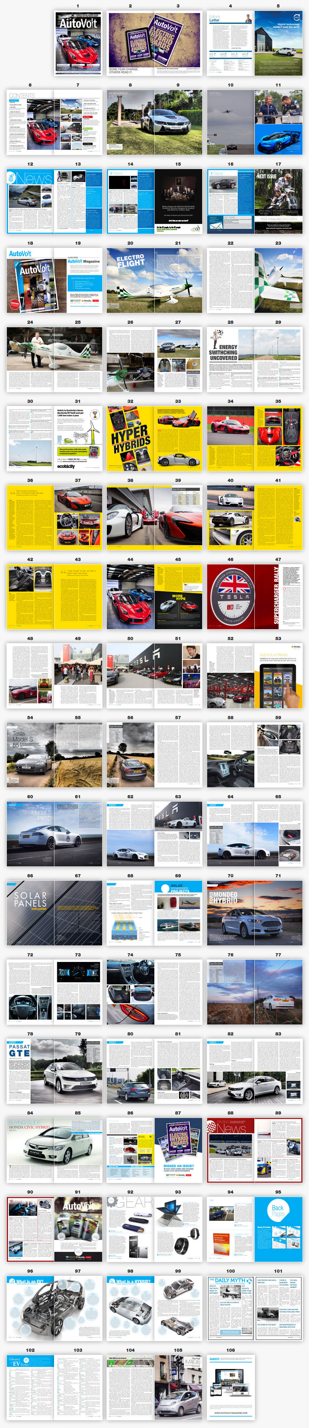AutoVolt Issue 8 magazine spread layout