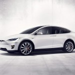 Tesla Model X front three quarter