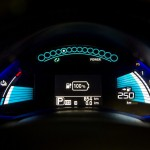 250 km or 155 mile range Nissan LEAF 30kWh MY2016