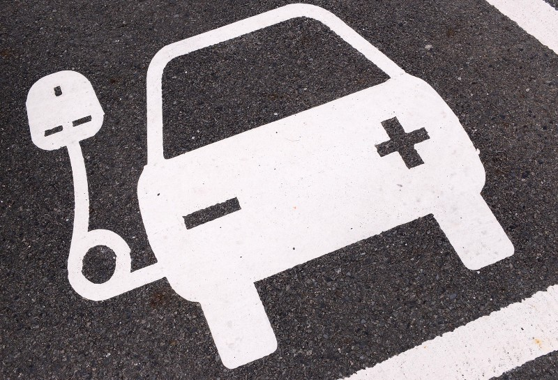 Nissan Ecotricity Charge-Symbol