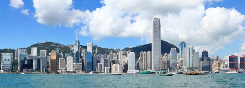 Hong Kong water front