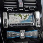 Nissan LEAF new user interface
