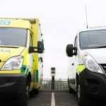 ICU EVe Dual Fast Charger at the North East Ambulance Service