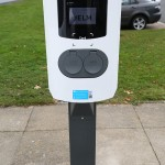 Installation by Elm EV at the North East Ambulance Service