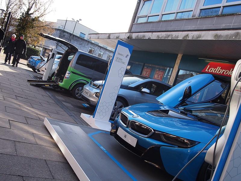 Sustainable St Albans Plug-in Vehicle Display 21.11.2015