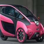 Toyota i-ROAD-two-seater
