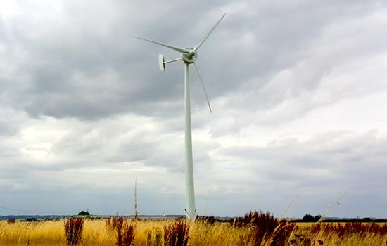 Britwind H15 windmill turbine