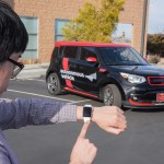 KIA at CES 2016 Soul EV autonomous vehicle