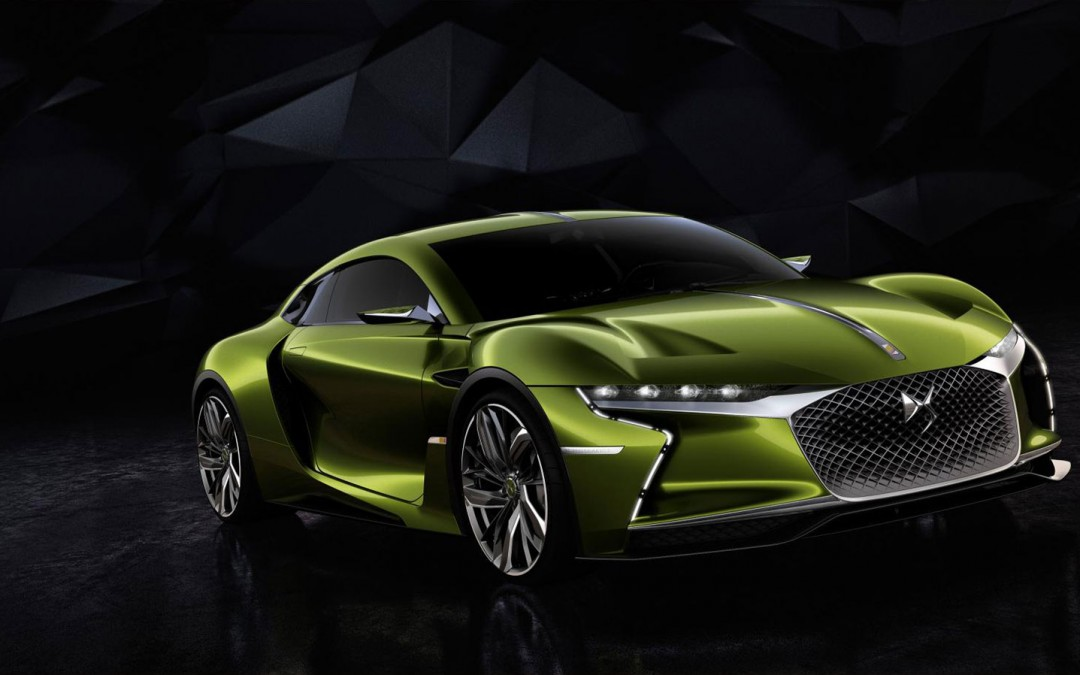 DS E-TENSE Electric Supercar Concept Breaks Cover Ahead of 2016 Geneva Motor Show