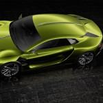 DS E-TENSE electric supercar concept