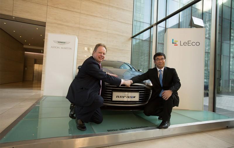 LeEco and Aston Martin sign MOU