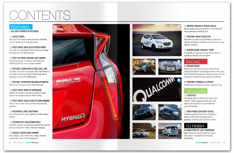 AutoVolt Mar-Apr 2016 contents