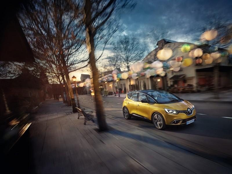 Renault New Scenic Geneva 2016