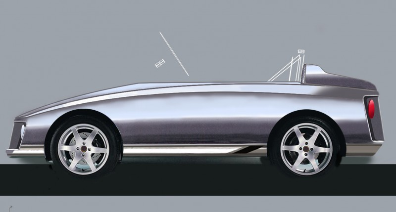 Young Driver car design