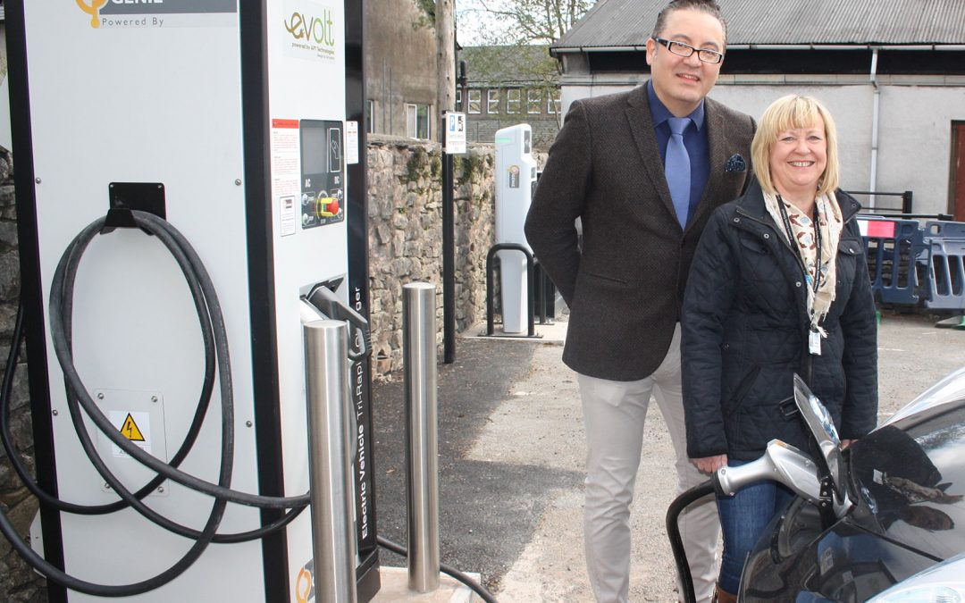 Evolt installs Cumbria's First Publicly Available Rapid Charging Network