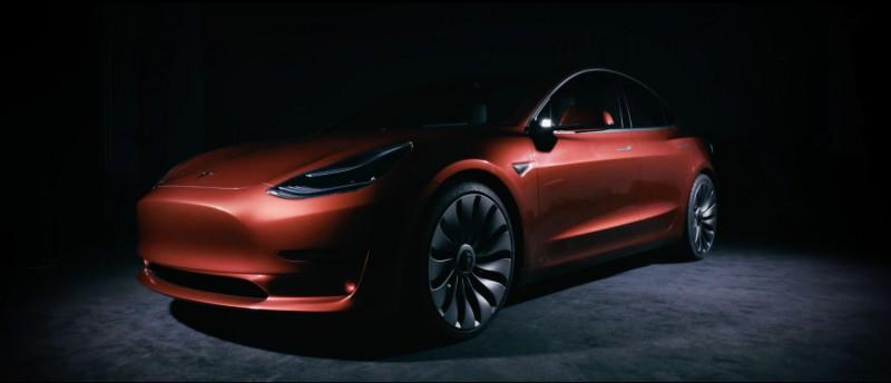 Tesla Model 3 first pics