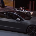 Tesla Model 3 first pics