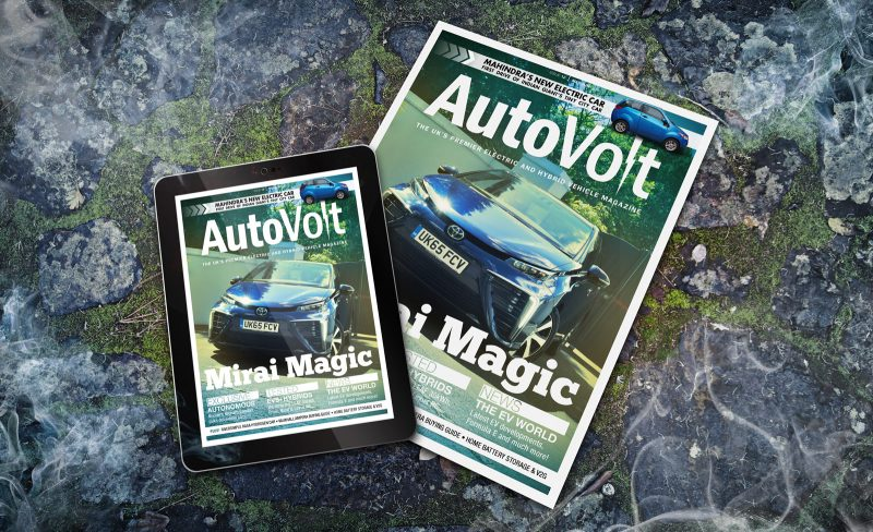 AutoVolt May-June 2016 paper magazine and tablet
