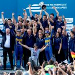 FIA Formula E London ePrix 2016 - Renault-e.dams team celebrate a quartet of wins in London